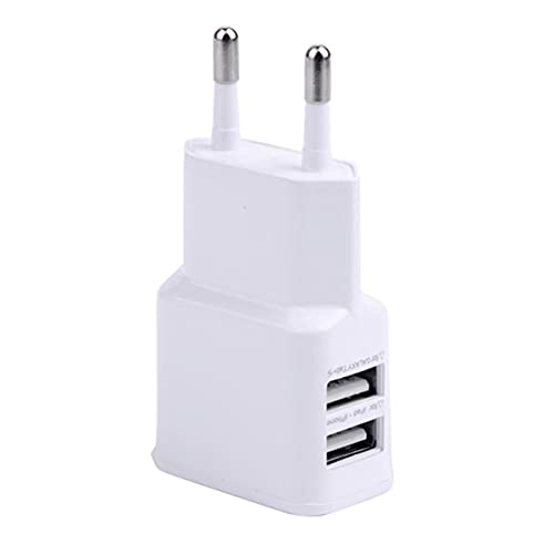 Dswe 5V2A EU EE. UU. Enchufe 2 Cargador USB Cargador rápido para teléfono móvil