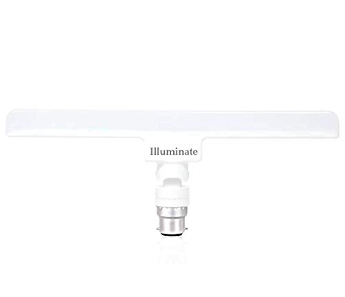 ILLUMINATE LIGHT B22 6500K Linear or T Bulb (10 Watt, Regular White Light/Cool Day Light)