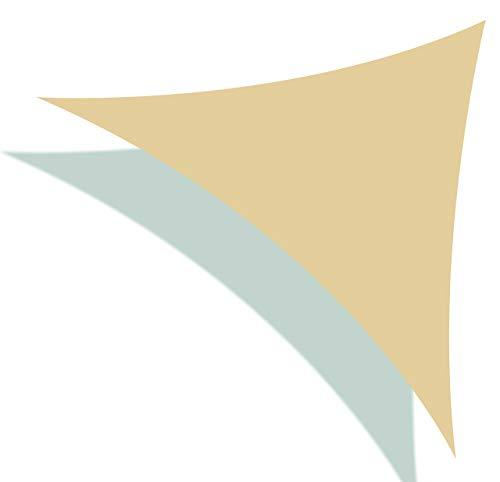 SueSport Triangle 16'x 16'x 16' Durable Sun Shade Sail Shade Canopy