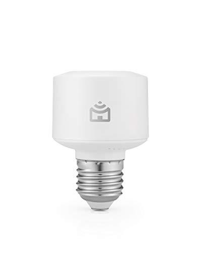 Smart Bocal Wi-Fi Positivo Casa Inteligente, soquete E27, 100W Bivolt - Compatível com Alexa, branco