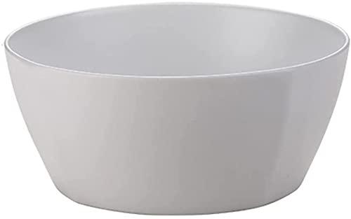 dh-4 Tazones para Sopa, tazones para Fideos, Ramen, tazones para Servir para Ensalada de Pasta, tazón para Desayuno con Curry, 2 tamaños Disponibles, Cuadrado, Gris, 11 cm