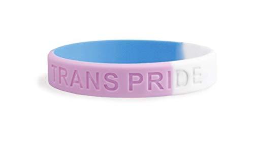 Patch Nation Trans Transgender Gay Trans Pride LGBT Fusionieren Flagge Silikon Armbänder