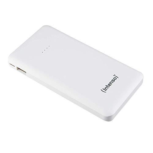 Intenso Powerbank S10000 Slim externes Ladegerät (10000mAh, geeignet für Smartphone/Tablet PC/MP3 Player/Digitalkamera) weiß (Art.-Nr. 7332532)
