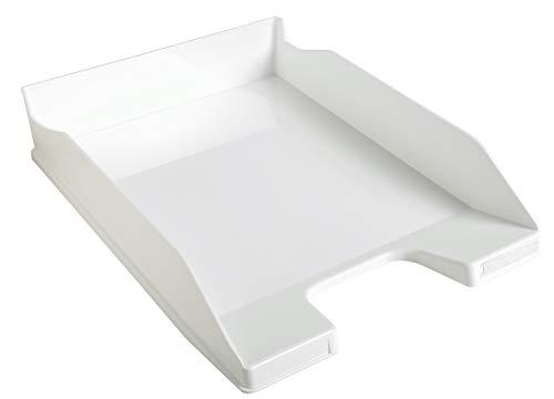 Exacompta Office - Bandeja de correo, color blanco glossy