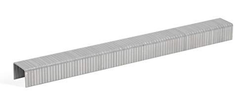 REGUR Type 11 V2A platte draadclips - 1.000 stuks lengte 11/8 mm - roestvrijstalen clips voor het bevestigen van folies, papier, karton, textiel en nog veel meer