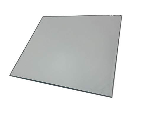 Vetrineinrete® Specchio Quadrato Decorativo sottopiatto centrotavola sottobicchiere in Vetro specchiato Piatto Decorativo sottocandela da Tavolo 6077 B56 (30x30 cm)
