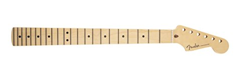 Fender 099–9002–921Estados Unidos Stratocaster Neck, 22Med Jumbo trastes, Compound Radius, Maple mini-tabla