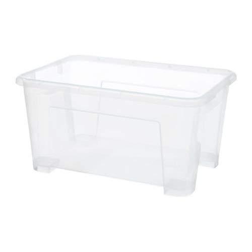 IKEA SAMLA - Caja, transparente