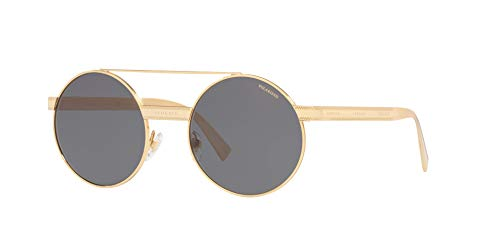 Versace Gafas de Sol EVERYWHERE VE 2210 Gold/Grey 52/21/140 mujer