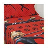 Juego de Sabanas Licencia Oficial Ladybug Rojo Cama 90