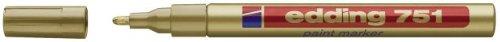 Edding 751-53 Paintmarker gold Kunststoffspitze 1-2mm Strichbreite