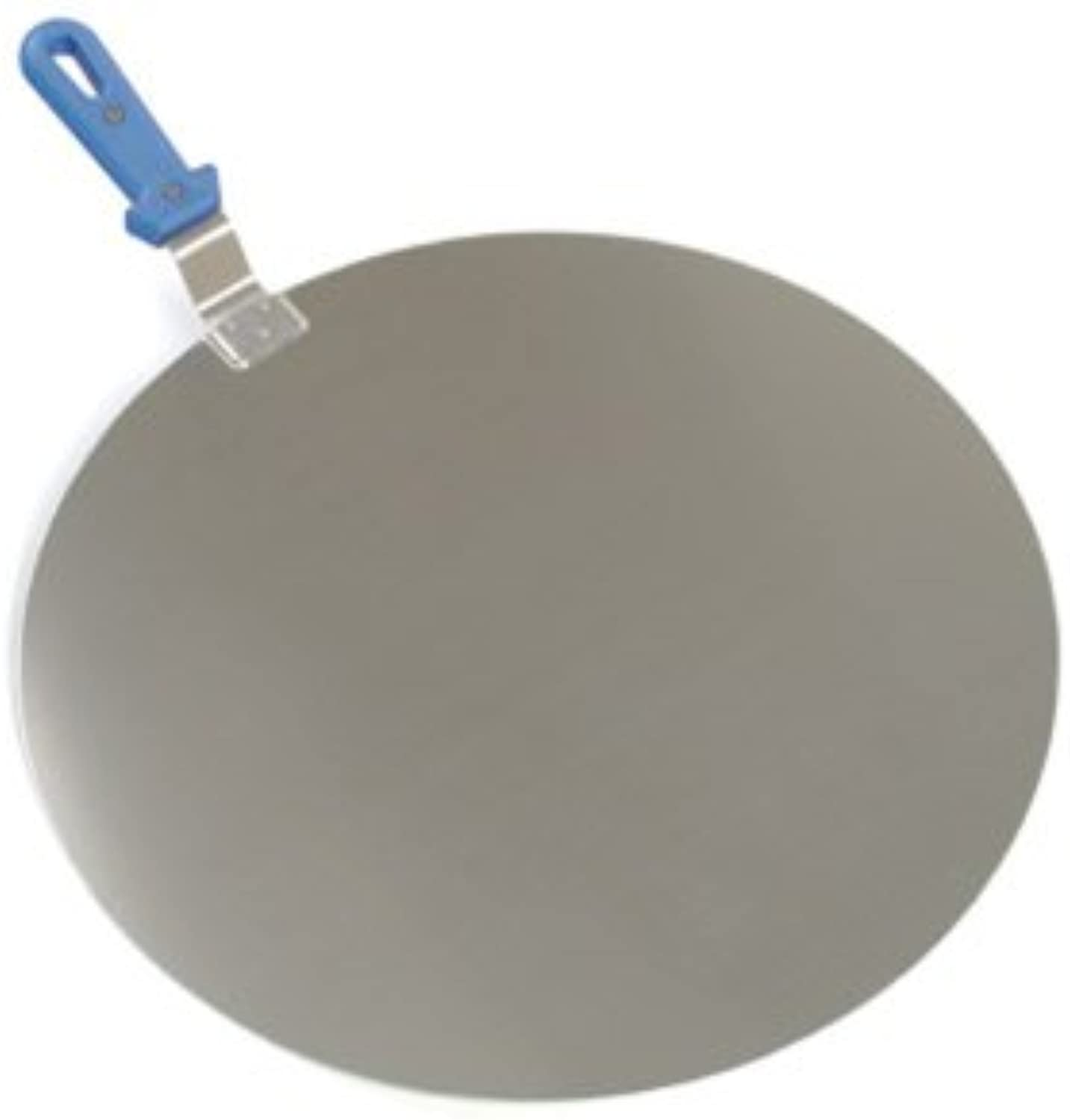 Paderno World Cuisine 12-1 2-Inch Aluminum Pizza Spatula with Short Handle