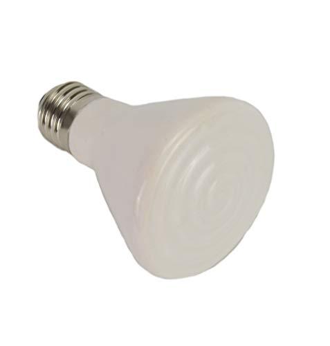 GarPet Wärmelampe Keramik Heiz Lampe Dunkelstrahler Keramik Infrarot Strahler E27 (60 Watt)
