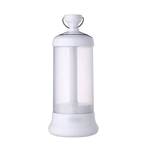 ZSRLX Linterna de camping, linterna de camping portátil con luz LED recargable, para emergencia, pesca, cortes de energía para el hogar, color blanco