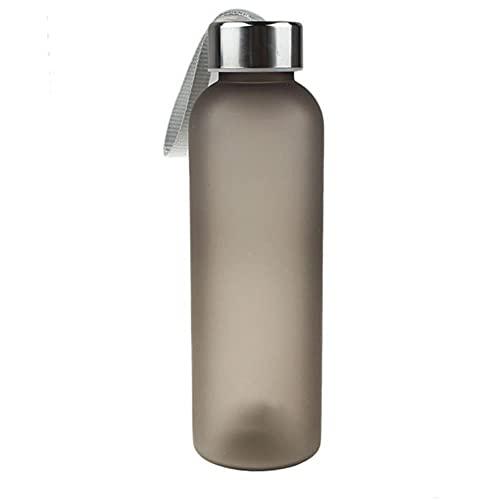 New Leak Tight Fruit Juice Sport Botella de viaje portátil Taza de agua 600ML-Estados Unidos, B
