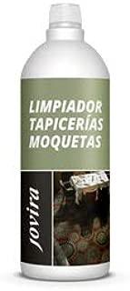 JOVIRA Limpiador TAPICERÍAS, ALFOMBRAS Y MOQUETAS Elimina Las Manchas más difíciles en los Tejidos de Forma rápida y eficaz.1 Litro