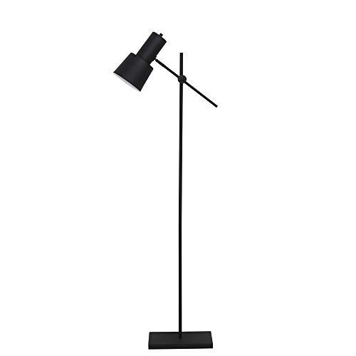 Light & Living vloerlamp 31 x 19 x 141-155 cm PRESTON zwart voor woonkamer eetkamer slaapkamer enz.