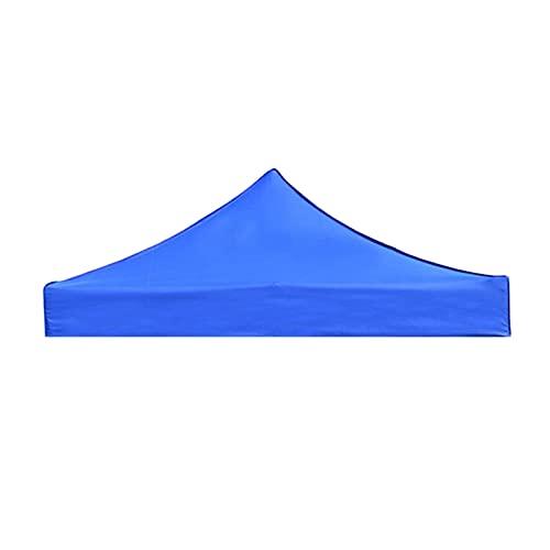 WSY Ersatz Baldachin Zelt Top Cover Beach Garten Gazebo Sonne Schatten Regenschutz Fit Für 4 Beine Rahmenzelte Pferden (Color : Blue 2.9x2.9m)
