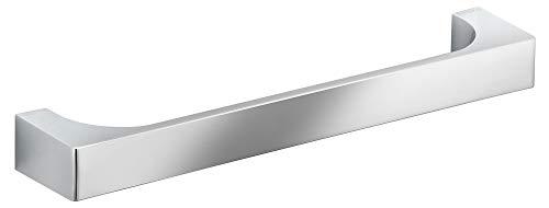 KEUCO Haltegriff, hochglanz-verchromt, 32,2 cm lang, Belastberkeit 115 kg, für Badewanne und Dusche, Wandmontage, auch als Wannengriff, Edition 11