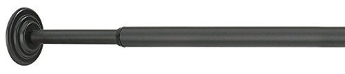 Umbra 244773-038 Coretto Bastone a Pressione per Tenda, Diametro 1.3 cm, 91.4 x 137.1 cm, Nero