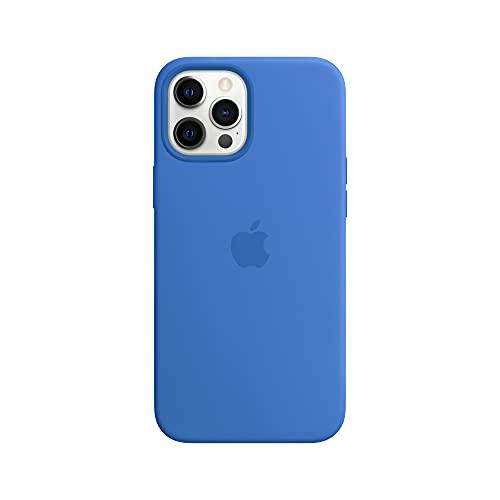 Apple Custodia MagSafe insilicone (per iPhone 12 Pro Max), Azzurro Capri