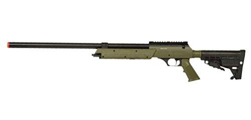 Well Spec-Ops APS SR-2 Spring Powered Airsoft Sniper Rifle Gun FPS 500 (Green)