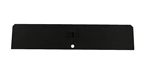 "Lindeman Replacement Steel Damper Plate Painted Black-28.5"" X 7"""
