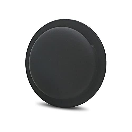 Xucage - Custodia in silicone compatibile con Apple Airtags 2021, confezione da 2 pezzi, colore: Nero