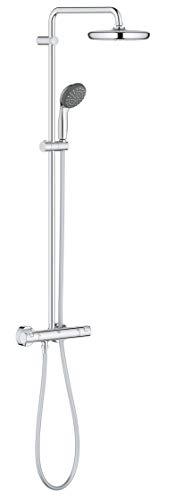 GROHE Colonne de douche avec mitigeur thermostatique Vitalio Start System 210 mm 27960001