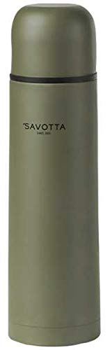 Savotta Army Isolierflasche 1 Liter, Oliv