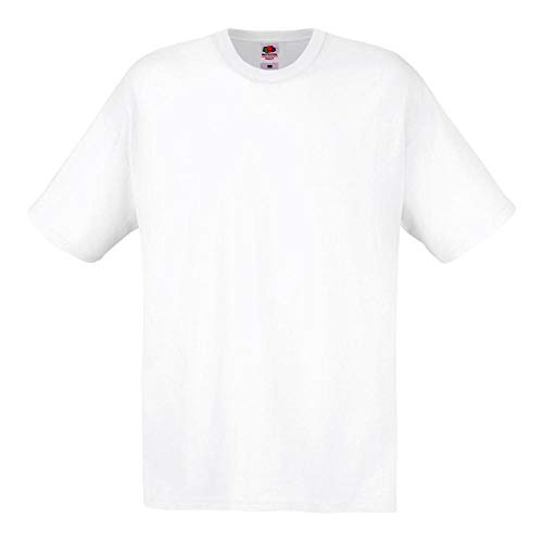 Fruit of the Loom - Original Full Cut T-Shirt XL,White