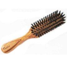 Brosse à cheveux fine poils de sanglier
