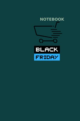 NOTEBOOK: NOTEBOOK: Black Friday Planner - Size ( 6 x 9 inches) 100 Pages, Wide Ruled Paper   Notebook Journal   Writing & Office Paper, Perfect for College