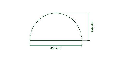 Coleman Sicht- und Windschutz als Türelement für Event Shelter, 4,5 x 4,5m - 2