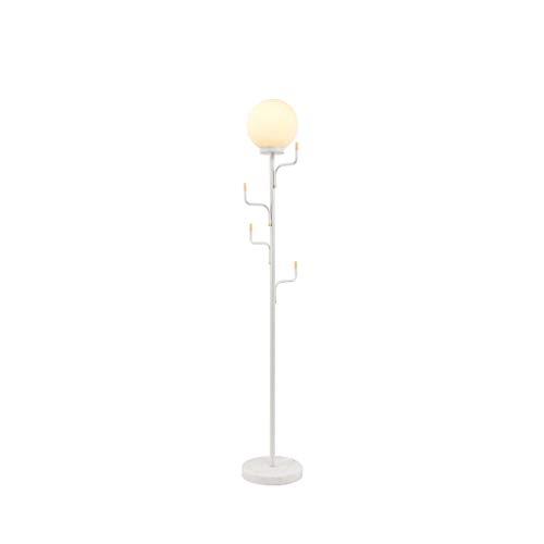 WRMOP vloerlamp minimalistische stijl glaswasc marmer verticale tafellamp, woonkamer sofa slaapkamer nacht garderobe bollamp R/19/12/17