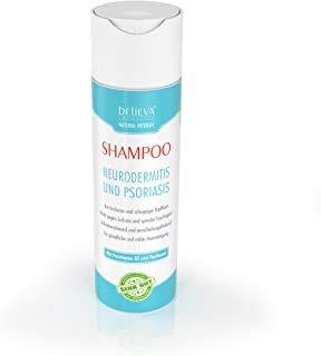 Believa Natural - Champú 100% vegano para aliviar la neurodermatitis y la psoriasis - Efectivo contra la sequedad y el picor del cuero cabelludo - 200ml
