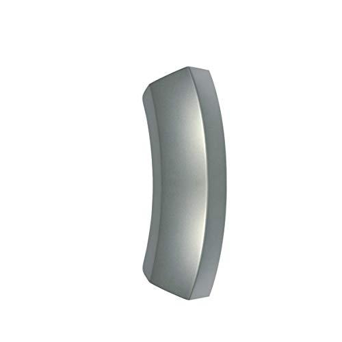 KG-Part 00644222 - Tirador de puerta de plata para Bosch y Siemens