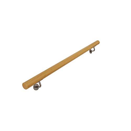 KUNYI Holztreppenhandlauf, an der Wand befestigter Handlauf Geländer for die Schwangerschaft Gehen Treppen Innen mit Schrauben Einfache Installation (Size : 50cm)