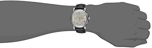 Montblanc Star 36967 Montre automatique pour homme avec bracelet en cuir noir