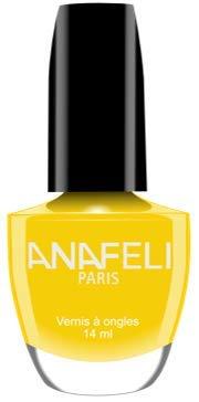 Ana Paris – Esmalte de uñas, colección laqueada Manicura francesa clásica 14 ml – (Nº 98 amarillo canari)