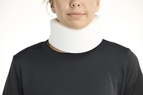 "United Ortho 10002 Soft Neck Brace Cervical Collar, 2"" Universal, White"