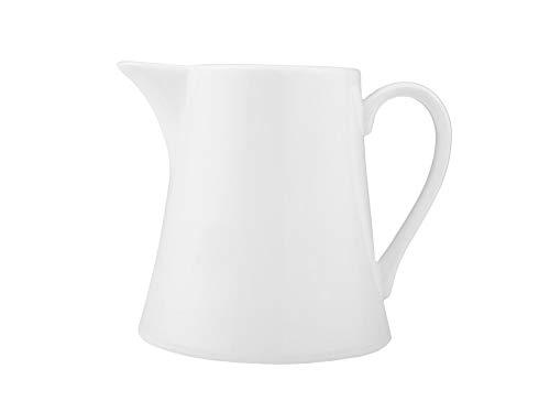 Dajar Welle/KUBIKO Milchkrug 200ML, Porzellan, Weiß, 10 x 8.5 x 8 cm