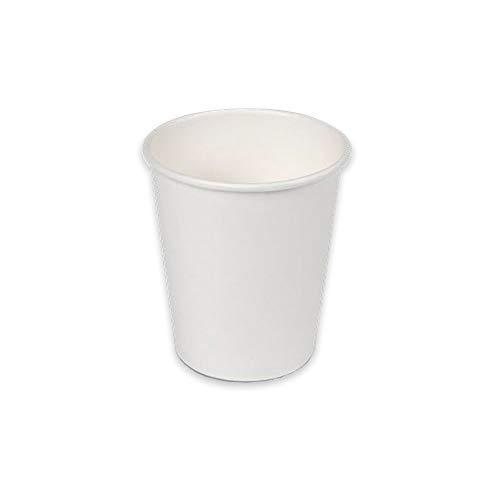Soul Forest - Vasos Reciclables de Cartón 200 ml - Pack de Vasos Desechables Biodegradables para Café con Leche, Café Cortado y Agua (100)