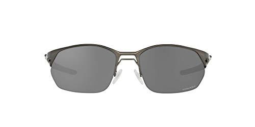 OO4145 Wire Tap 2.0 Sunglasses, Matte Gunmetal/Prizm Black, 60mm