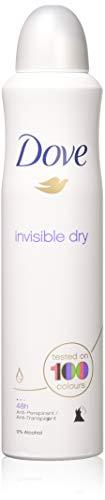 Dove body spray Anti-Perspirant/Anit-Transpirant (6X250ml/8.5oz, Invisible dry)