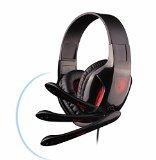 ArcEnCiel® G40003,5mm auriculares estéreo Gaming Headset Led banda Reducción del Ruido con control de volumen y micrófono para PC Computer Game