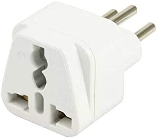 UK to BRAZIL TRAVEL PLUG ADAPTER (Type N) Official standard