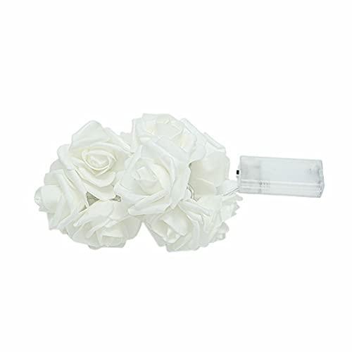 Nihlsen Led Simulation Rose Light String Romantic Flower Fairy Lamp Hanging Lights