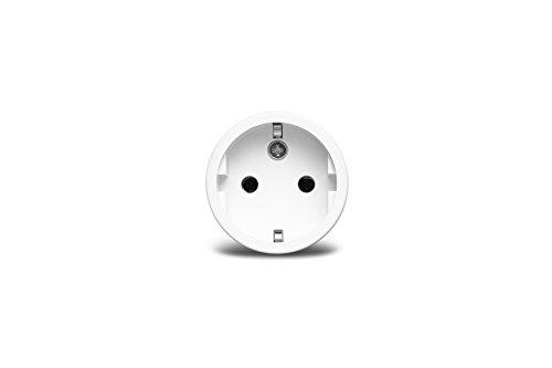 Preisvergleich Produktbild Medion Smart Home Zwischenstecker P85702 MD 90702 (Smart Home,  schaltet elektrische Geräte,  misst Stromverbrauch,  Zeitschaltung oder manuelle Schaltung) weiß