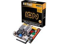 Zotac Mainboard (Intel Atom 330, DDR3-1066, NVIDIA ION, PCIe-X16, WLAN, USB 2.0, HDMI, DVI-D, VGA, Mini ITX)
